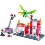 KRE-O Fire Station Dragon Attack, Hasbro