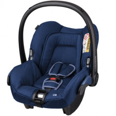 Cosulet Auto Citi SPS 0-13 kg River Blue - Scaun auto copii Maxi Cosi, 0+ (0-13 kg), Isofix