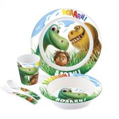 Set pentru Masa Melamina 5 Piese Bunul Dinozaur