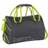 Geanta pentru Scutece Maternity Bag Grey - Geanta plimbare copii