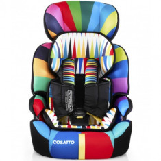 Scaun Auto Zoomi 123 Go Brightly 9-36 kg - Scaun auto copii grupa 1-2-3 (9-36 kg) Cosatto, 1-2-3 (9-36 kg), Isofix