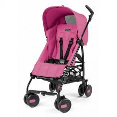 Carucior Pliko Mini 2016 Pink - Carucior copii 2 in 1 Peg Perego