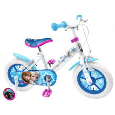 Bicicleta Frozen, 12 inch - Bicicleta copii Stamp