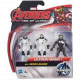 Mini Figurine Avengers - Ultron Mark vs Iron Legion, Hasbro