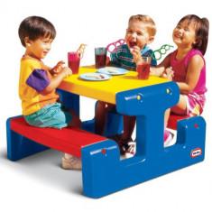 Masuta Picnic pentru 6 Copii - Spatiu de joaca Little Tikes