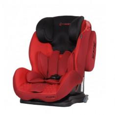Scaun Auto Vivaro cu Isofix 9-36 kg Red - Scaun auto copii, 1-2-3 (9-36 kg)