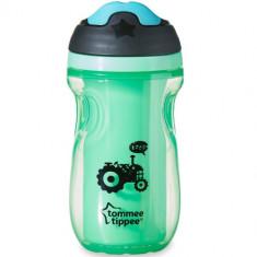 Cana Explora Sipper Izoterma 260 ml Verde - Cana bebelusi Tommee Tippee