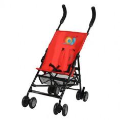 Carucior Holiday Mini Rosu - Carucior copii 2 in 1 DHS Baby