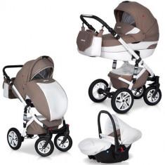 Carucior Durango 3 in 1 Latte - Carucior copii 2 in 1 Euro-cart