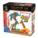 Set Creatie cu Plastilina BooZoo Animals Elefant