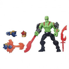Figurina Super Hero Mashers Drax - Figurina Povesti Hasbro