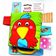 Soft Book - Carticica Moale Garden - Jucarie pentru patut Galt
