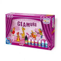 Set Decorat Geamuri - Animale - Jocuri arta si creatie D-Toys