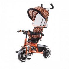 Tricicleta Racer 2015 Portocaliu - Tricicleta copii Chipolino