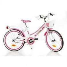 Bicicleta 20 Inch Barbie - Bicicleta copii Dino Bikes