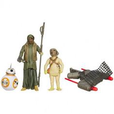 Star Wars - Figurine Desert Mission BB-8 si Unkars Thug - Figurina Povesti Hasbro