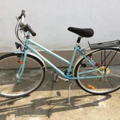 10 bicicleta taifun second-hand, germania r28 - Bicicleta de oras, 18 inch, Numar viteze: 21