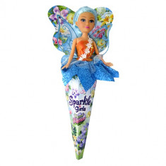Papusa Funville Sparkle Girlz Floral Fairies Verde, 2-4 ani