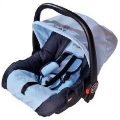 Cosulet Auto First Travel 0-13 kg Albastru - Scaun auto copii grupa 0+ (0-13 kg) DHS Baby, 0+ (0-13 kg), Isofix