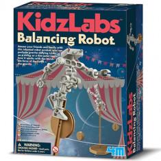 Set Creatie Robot Acrobat - Jocuri Logica si inteligenta 4M