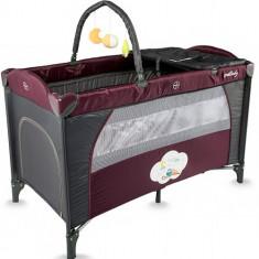Patut Twinkle Violet - Patut pliant bebelusi DHS Baby