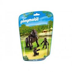 Gorila cu Pui - Figurina Animale Playmobil