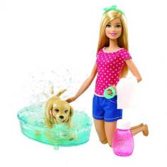 Papusa Mattel Barbie cu Catel, 4-6 ani, Plastic, Fata