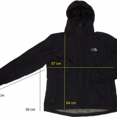 Geaca THE NORTH FACE originala, membrana (dama L/ barbati S)cod-174636 - Imbracaminte outdoor The North Face, Marime: L, Geci