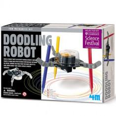 Set Creatie Doodling Robot - Jocuri Logica si inteligenta 4M