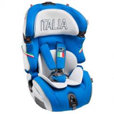 Scaun Auto SLF123 Q Fix Italia 9-36 kg - Scaun auto copii Kiwy, 1-2-3 (9-36 kg), Isofix
