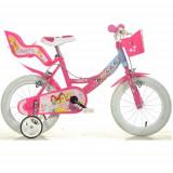 Bicicleta Princess 14 Inch - Bicicleta copii Dino Bikes