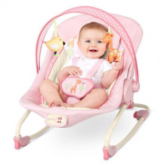Balansoar 2 in 1 Girafaloo Rocker - Balansoar interior Bright Starts