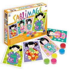 Sablimage Kokeshi - Jocuri arta si creatie
