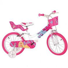 Bicicleta 146R Seria Barbie, 14 inch - Bicicleta copii Dino Bikes