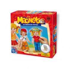 Joc Magnetic sa Imbracam Papusa Clasica - Jocuri arta si creatie D-Toys