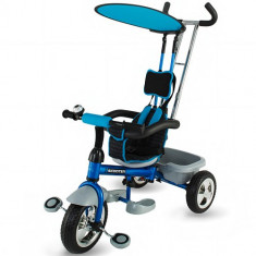 Tricicleta Scooter Plus Albastra - Tricicleta copii DHS Baby