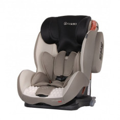 Scaun Auto Vivaro cu Isofix 9-36 kg Bej - Scaun auto copii grupa 1-2-3 (9-36 kg) Coletto, 1-2-3 (9-36 kg)