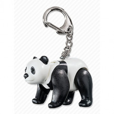 Breloc Playmobil Cu Urs Panda - Figurina Povesti
