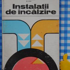 Instalatii de incalzire N Niculescu M Ilina - Carti Energetica