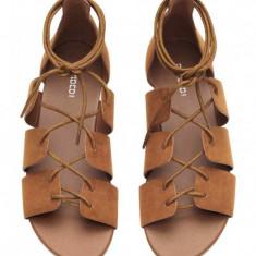 Sandale H&M - Sandale dama H&m, Culoare: Maro, Marime: 38