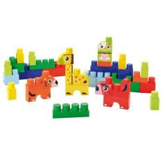 Set Constructii cu Animalute Abrick - Scule si unelte Ecoiffier