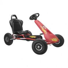Kart Air Racer Rosu - Kart cu pedale ferbedo