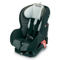 Scaun Auto Exo Basic 9-18 kg Negru cu Gri - Scaun auto copii grupa 0-1 (0-18 kg) Jane, 0-1 (0-18 kg), Isofix