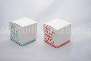 Marturii botez, cutie cadou cub  Carucior  CEL MAI MIC PRET DE PE PIATA