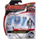 Mini Figurine Avengers - Nick Fury vs Sub-Ultron 007, Hasbro