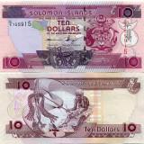 !!! SOLOMON ISLANDS - 10 DOLARI (2011) - P 27.3 - UNC / SERIA C/5