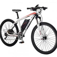 ZT-82 Bicicleta electrica cu cadru Aluminiu - Bicicleta electrice, 20 inch, 27.5 inch, Numar viteze: 10, Negru-Alb