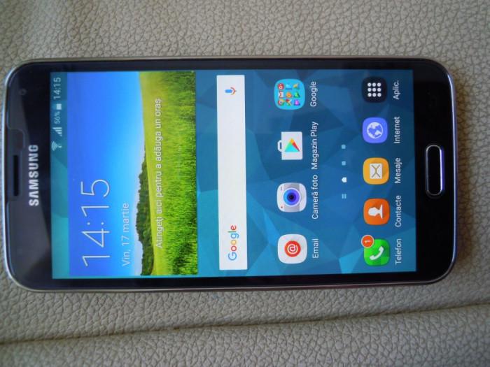 Samsung Galaxy S5 LTE-A G901F,full,ca nou foto mare