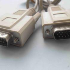 Cablu Video VGA 9 pini - SVGA 15 pini - Cablu PC Oem