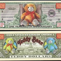 !!! SUA = FANTASY NOTE = URSULETI DE PLUS - 2003 - UNC - bancnota america